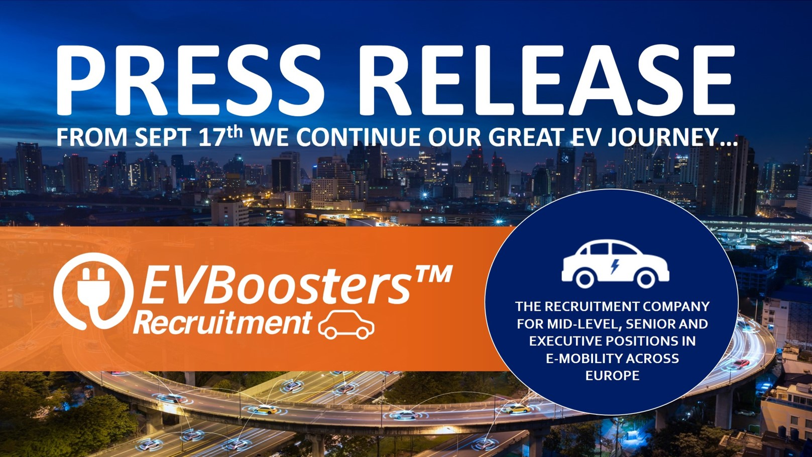 Press Release 17th EVBoosters