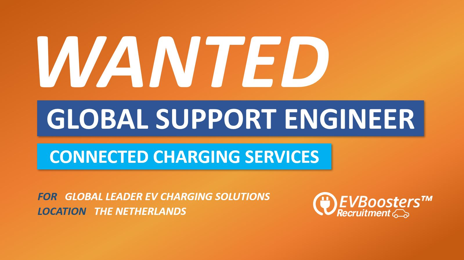 Global Support Engineer Connected Charging Services