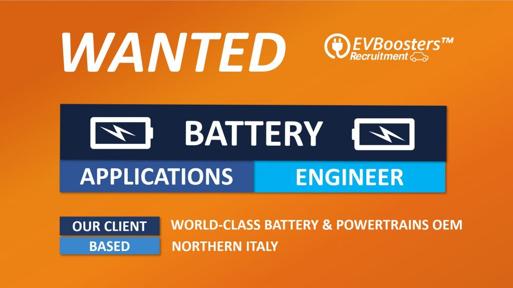 Battery Application Engineer