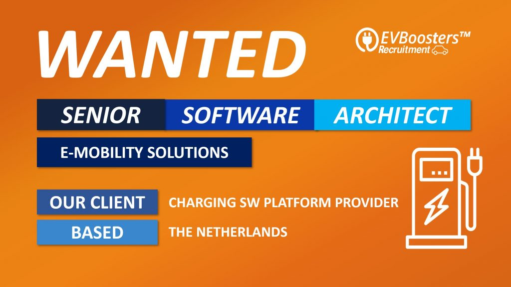 senior software architect ev charging solutions