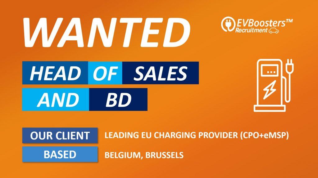 head of sales & business development belgium
