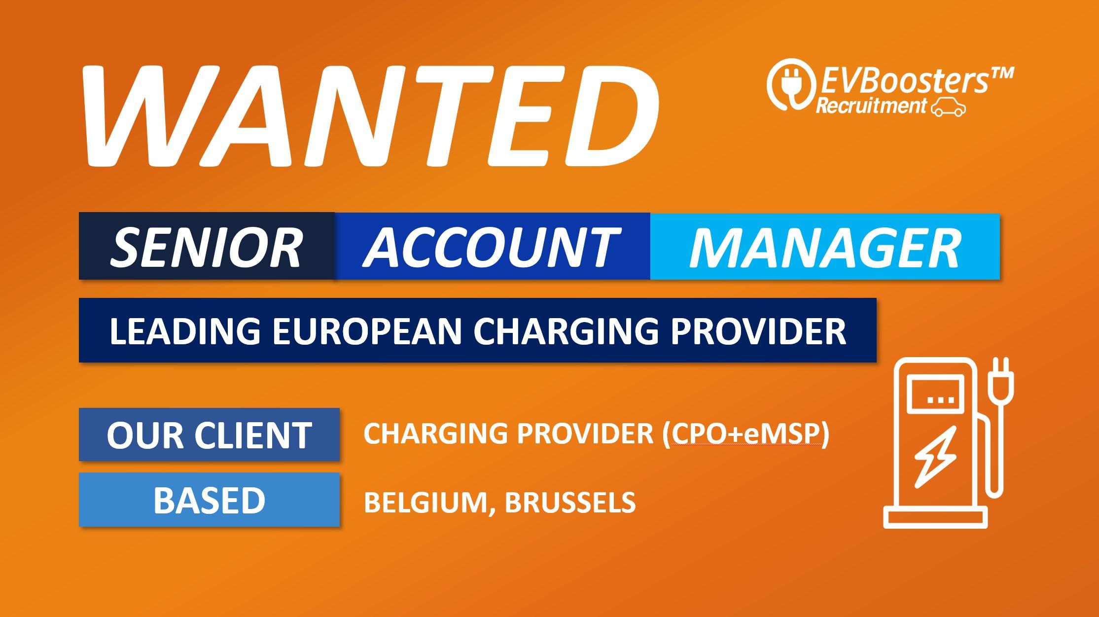 senior account manager belgium