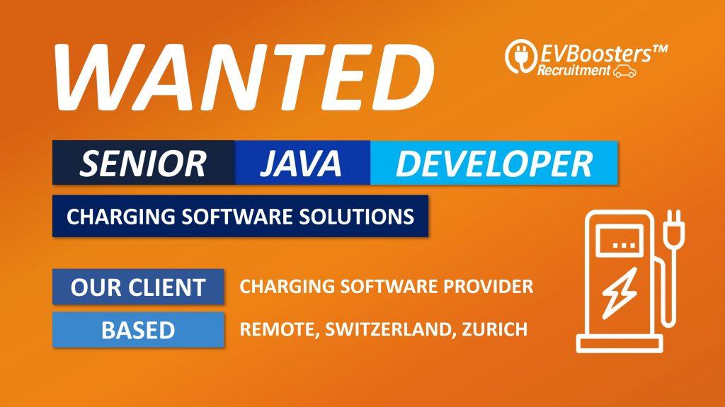 senior java developer software solutions